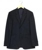 Paul Smith COLLECTION(ポールスミスコレクション)の古着「ストライプテーラードジャケット」 ネイビー
