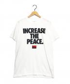 NIKE × STUSSY(ナイキ × ステューシー)の古着「プリントTシャツ」|ホワイト