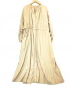 自由区(ジユウク)の古着「ARSレインコートドレス」|ピンク