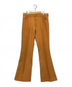 Wrangler(ラングラー)の古着「ランチャードレスジーンズ」|ブラウン