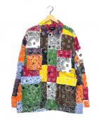 ELVIRA(エルビラ)の古着「ペイズリーパッチワークジャケット」|マルチカラー