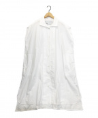 ticca(ティッカ)の古着「フレンチスリーブワンピース」 ホワイト
