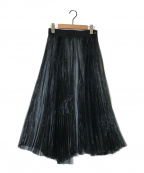 HYKE(ハイク)の古着「プリーツスカート」|ブラック