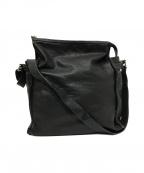 HIROFU(ヒロフ)の古着「レザーショルダーバッグ」|ブラック