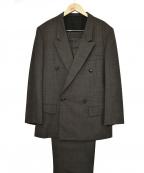 Y's for men(ワイズフォーメン)の古着「ダブルセットアップスーツ」|ブラック