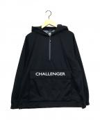 CHALLENGER(チャレンジャー)の古着「ナイロンアノラックジャケット」 ブラック