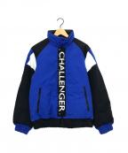 CHALLENGER(チャレンジャー)の古着「80'S Printed Jacket」 ブルー
