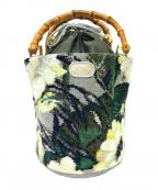 FEILER(フェイラー)の古着「バンブーパイルバッグ」|グリーン