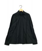 ()の古着「ロングスリーブブラウス」|ブラック