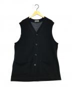 YohjiYamamoto pour homme(ヨウジヤマモトプールオム)の古着「フロントポケットベスト」|ブラック