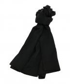 YohjiYamamoto pour homme(ヨウジヤマモトプールオム)の古着「シルクストール」|ブラック