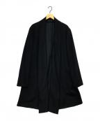 YohjiYamamoto pour homme(ヨウジヤマモトプールオム)の古着「トッパーコート」|ブラック