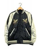 ()の古着「スーベニアリバーシブルジャケット」|ブラック