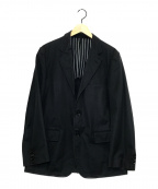 COMME des GARCONS HOMME(コムデギャルソン オム)の古着「3Bテーラードジャケット」 ブラック