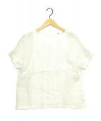 ()の古着「リネン天竺ブラウス」|ホワイト