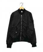 PIGALLE(ピガール)の古着「MA-1ジャケット」 ブラック