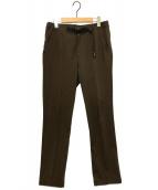 ()の古着「ジャージーパンツ」|ブラウン