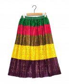 MUVEIL(ミュベール)の古着「レーススカート」|マルチカラー