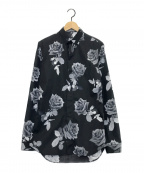 DIOR HOMME(ディオール オム)の古着「総柄シャツ」 ブラック