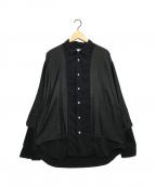 eN ROUTE(アンルート)の古着「ロングスリーブシャツ」|ブラック