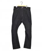 glamb(グラム)の古着「ポリーデニム」|ブラック