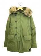 Denim & Supply Ralph Lauren(デニム&サプライ ラルフローレン)の古着「N-3Bコート」|カーキ