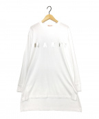 MARNI(マルニ)の古着「オーバーサイズロゴカットソー」 ホワイト