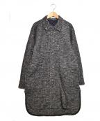 MACPHEE(マカフィー)の古着「ツイーディージャージー オーバーサイズドシャツジャケット」|グレー