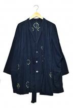KAPITAL(キャピタル)の古着「染加工コート」|ネイビー