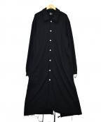 s'yte(サイト)の古着「スウェットコート」 ブラック