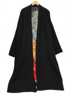 HARE × うきよゑもん(ハレ×ウキヨエモン)の古着「浮世絵KAKUSODEコート」|ブラック
