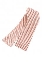 HOMME PLISSE ISSEY MIYAKE(オムプリッセ イッセイミヤケ)の古着「プリーツネクタイ」|ホワイト×レッド