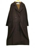 ()の古着「チェスターコート」 ブラウン