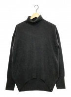 YANUK(ヤヌーク)の古着「カシミヤタートルネックニット」|グレー