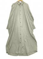 journal standard luxe(ジャーナルスタンダード ラックス)の古着「シャツワンピース」|グレー
