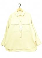 BALLSEY(ボールジィー)の古着「トリプルツイルクロスCPOシャツ」|ベージュ