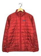 ()の古着「ボーイズナノパフジャケット」 レッド