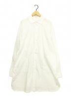 WEEKEND Max Mara(ウィークエンド マックスマーラ)の古着「ロングシャツ」|ホワイト