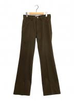 TTT MSW(ティー)の古着「NEW STANDARD PANTS」 ブラウン