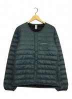mont-bell × B:MING(モンベル×ビーミング)の古着「スペリオダウンジャケット」|ネイビー