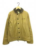 BUZZ RICKSON'S(バズリクソンズ)の古着「N1デッキジャケット」|カーキ