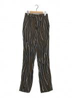 ()の古着「総柄パンツ」|ブラウン