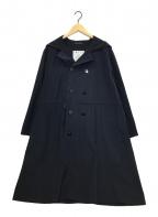 YOHJI YAMAMOTO HOMME IMPER MEABLE(ヨウジヤマモトオムアンペリアブル)の古着「Pコート」 ネイビー
