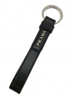 PRADA(プラダ)の古着「ロゴキーリング」|ブラック