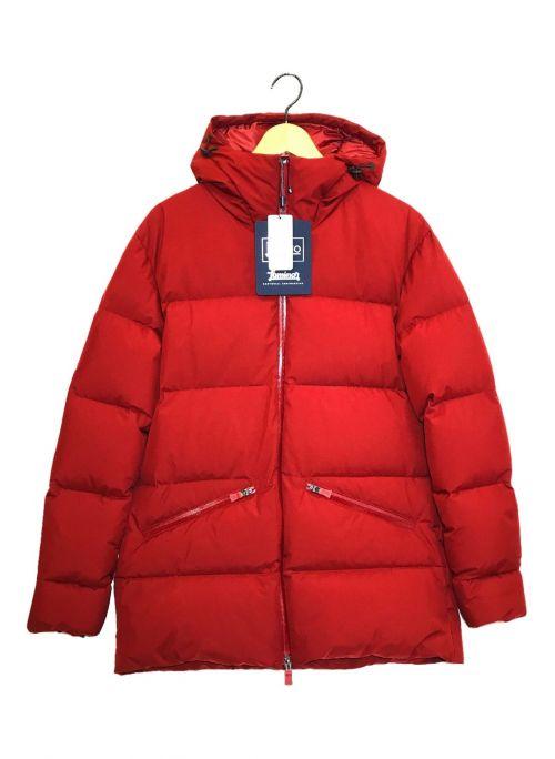 HERNO(ヘルノ)HERNO (ヘルノ) フーデッドダウンジャケット レッド サイズ:44 未使用品の古着・服飾アイテム