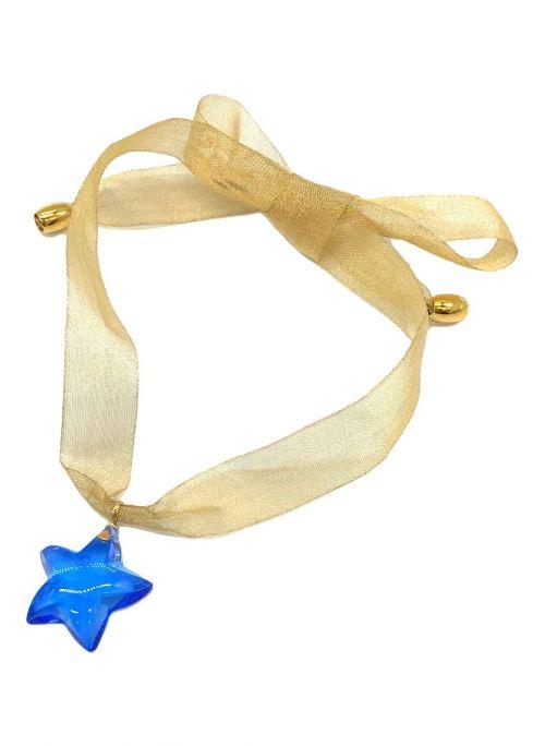 Baccarat(バカラ)Baccarat (バカラ) スターペンダントトップ ブルー サイズ:下記参照の古着・服飾アイテム