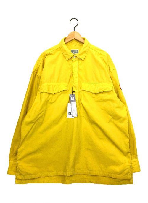 C.E(シーイー)C.E (シーイー) オーバーダイプルオーバーシャツ イエロー サイズ:XLの古着・服飾アイテム