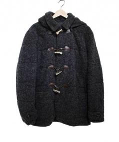 PRANDI(プランディ)の古着「中綿ダッフルコート」|グレー