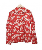 Star OF HOLLYWOOD(スターオブハリウッド)の古着「ALASKA SOURDOUGH シャツ」|レッド