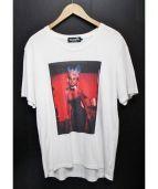 Hysteric Glamour(ヒステリックグラマー)の古着「Tシャツ カットソー」 ホワイト